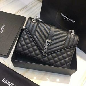 YSL Saint Laurent Envelope Bag Check Description